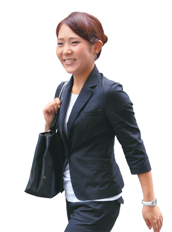 山口友未さん 美容関連会社勤務・営業